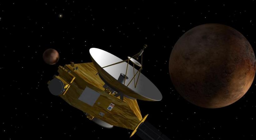 space probe to pluto - 820×450